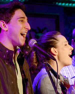Ben Fankhauser and Hannah Elless at 54 Below